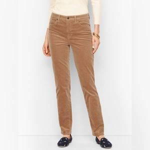 Talbots Heritage Corduroy Pants in Tan/Light Brown